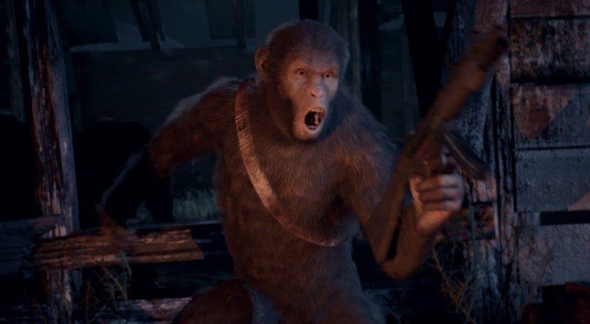 لعبة جديدة مستوحاه من افلام Planet of the Apes بعنوان Last Frontier