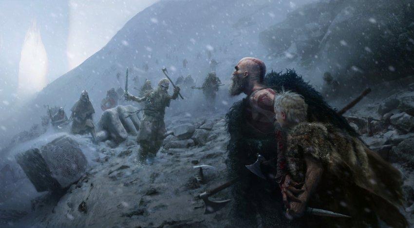 فيديو جديد للعبة God of War عن اساطير النوردية في قصة اللعبة