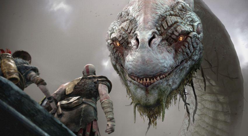 ثعبان Midgard في لعبة God of War يعتبر نقلة تقنية كبيرة حسب تعليق المطورين