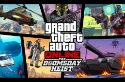 الاعلان عن اضافة جديدة مجانية لـ GTA Online بأسم The Doomsday Heist