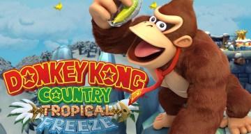 الإعلان عن نسخة الـ Switch من لعبة Donkey Kong Country: Tropical Freeze