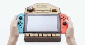 شركة Nintendo تكشف عن إكسسوارات جديدة لجهاز الـ Switch تحت اسم Nintendo Labo