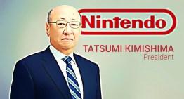 تنصيب مدير جديد لشركة Nintendo عقب استقالة المدير السابق Tatsumi Kimishima