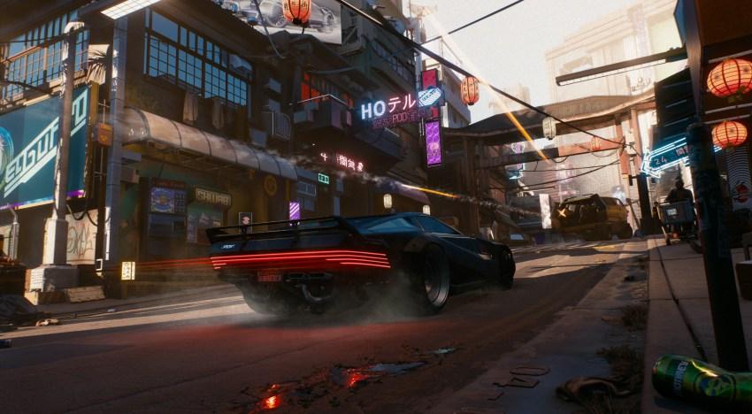 ستوديو CD Projekt RED يوضح نسبة احتمال وجود سيارات طائرة في لعبة Cyberpunk 2077