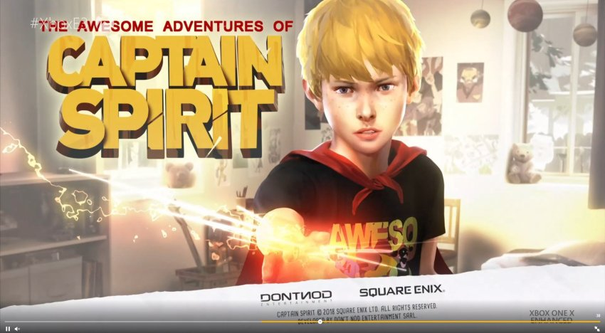 الكشف عن لعبة The Awesome Adventures of Captain Spirit في مؤتمر Xbox لـ E3 2018