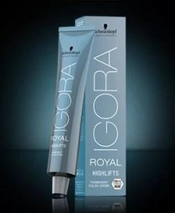 IGORA HIGHLIFTS - Hajkötés erősítő intenzív világosító hajfesték