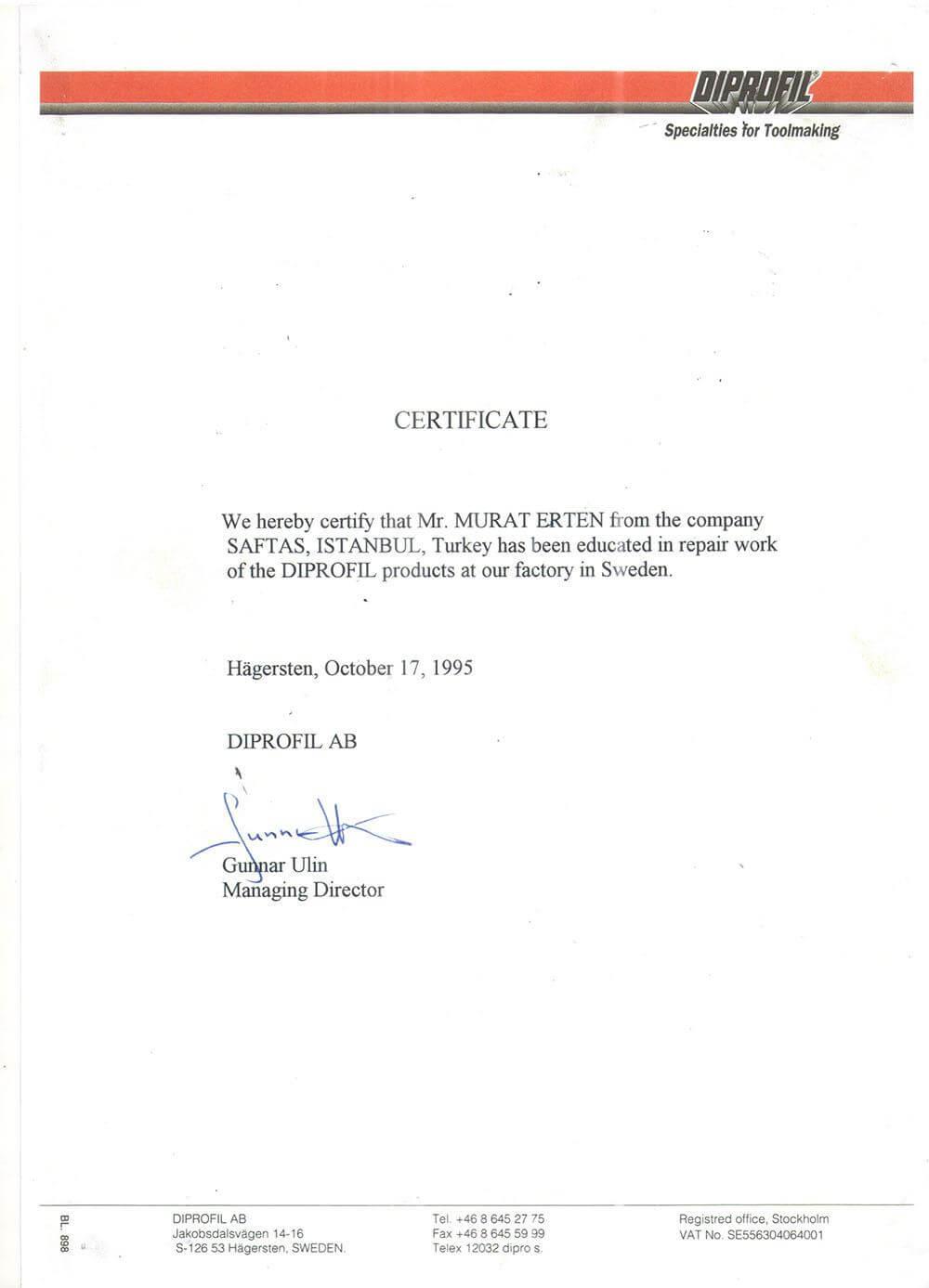 sertifika 2