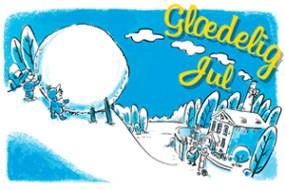 Kort og julekort – illustration
