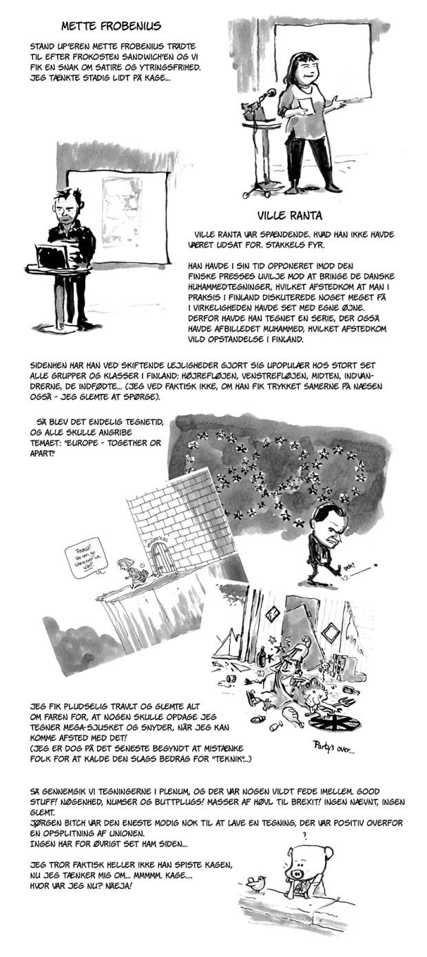 dagbog side 3 Ville Ranta satire EU