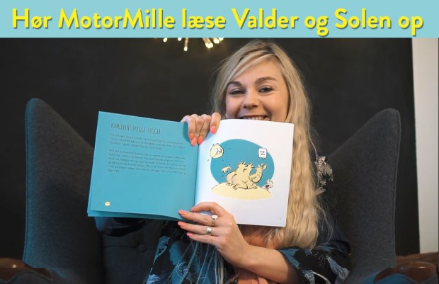 Motor Mille Gori læser Valder og Solen kræftens bekæmpelse
