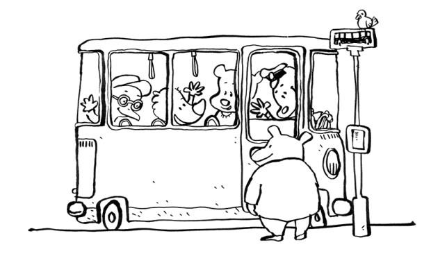 trafik malebog bus