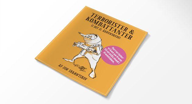 Terrorister og Kombattanter i det 22. århundrede satire skræntskov bog tegneserie