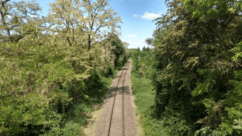 Alte Bahnstrecke