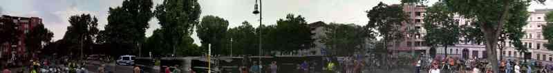 Mariannenplatz vor der CM