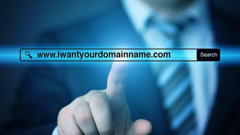search domain name