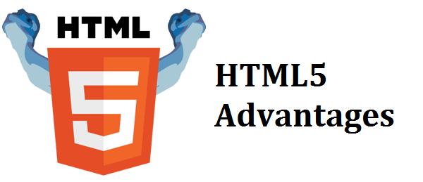 HTML5 advantages