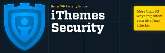 iThemes Security or Better WP Security