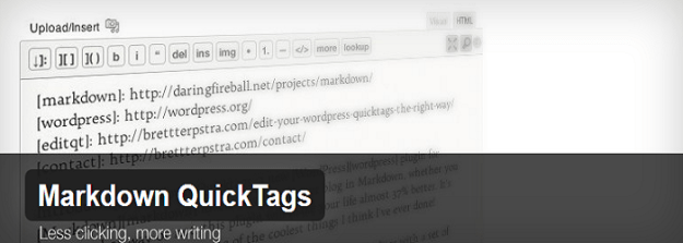 Markdown QuickTags