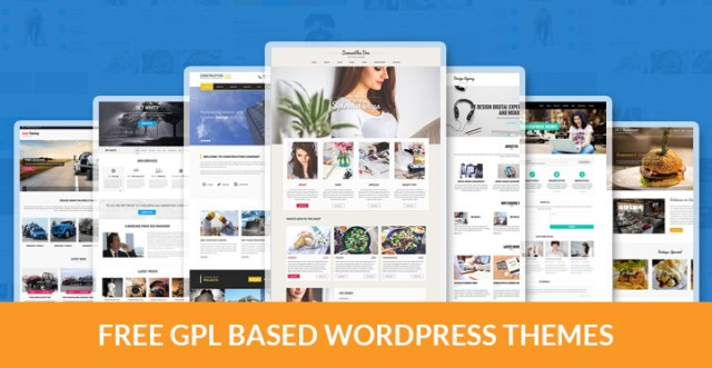 28 Best Free Gpl Based Wordpress Themes For Free Software Lovers