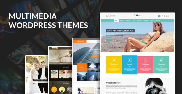 multimedia WordPress themes