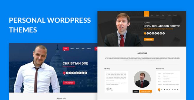personal WordPress themes