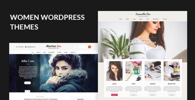 women WordPress themes