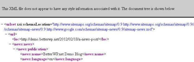 better WP Google XML Sitemap