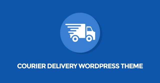 Courier Delivery WordPress Themes