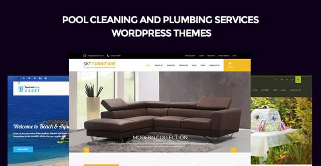 plumbing services WordPress themes