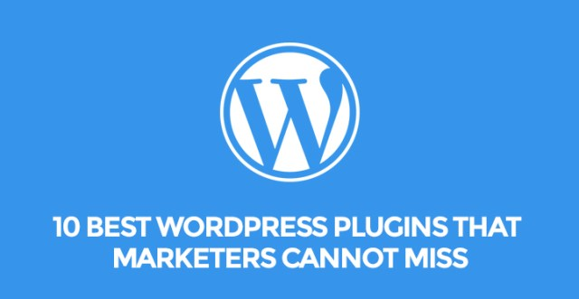 WordPress marketers Plugins