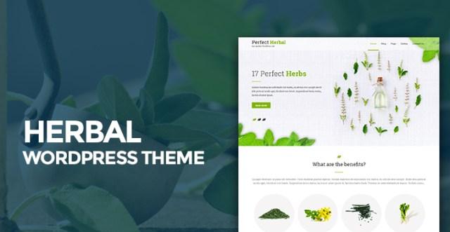 herbal WordPress theme