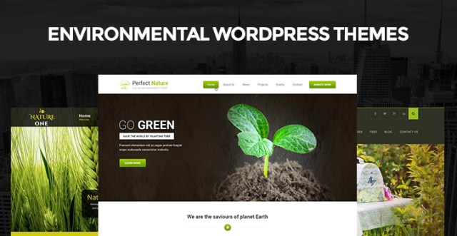Environmental WordPress Themes