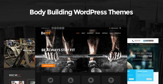 Body Building WordPress Themes