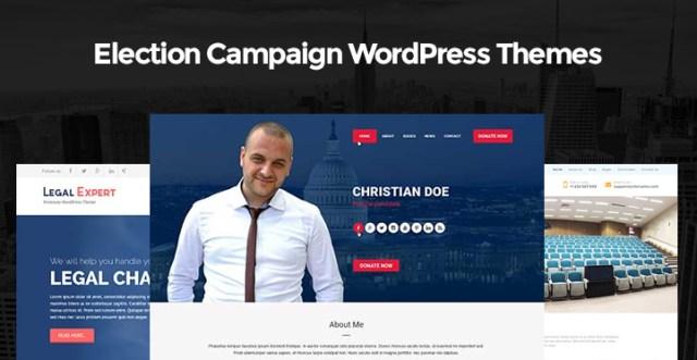 Election Campaign WordPress Themes