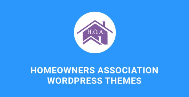 homeowners association WordPress theme