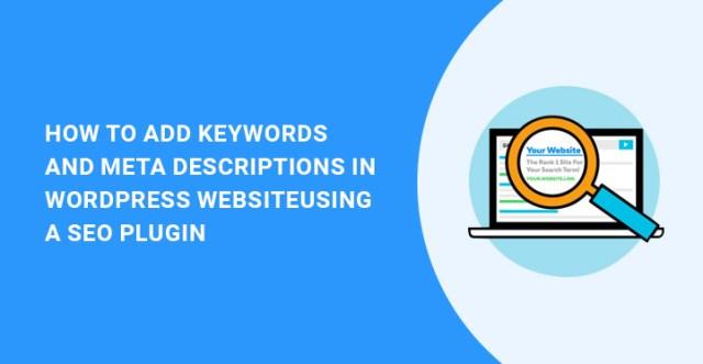 keywords meta WordPress SEO plugin