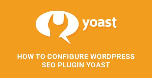 Configure WordPress SEO plugin Yoast