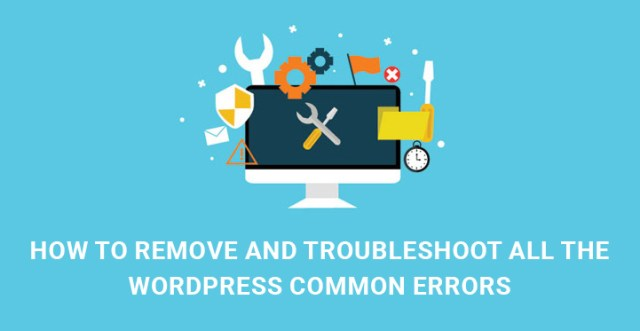 Troubleshoot WordPress common errors