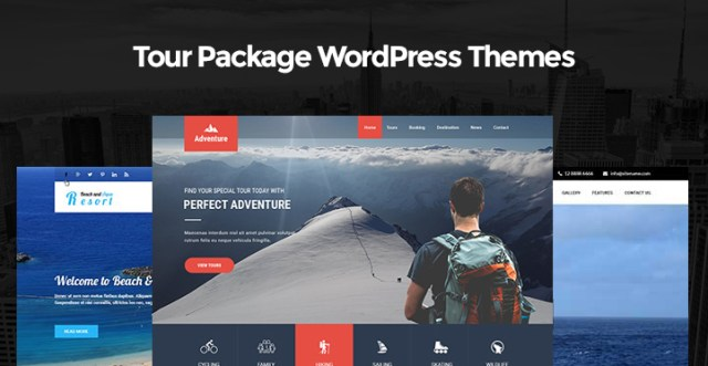 Tour Package WordPress Themes