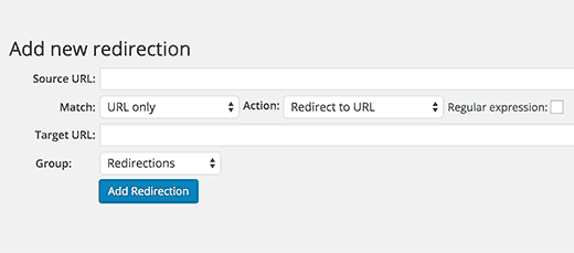 redirect 404