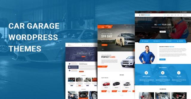 car garage WordPress themes