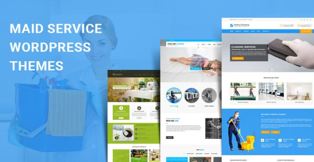 maid service WordPress themes