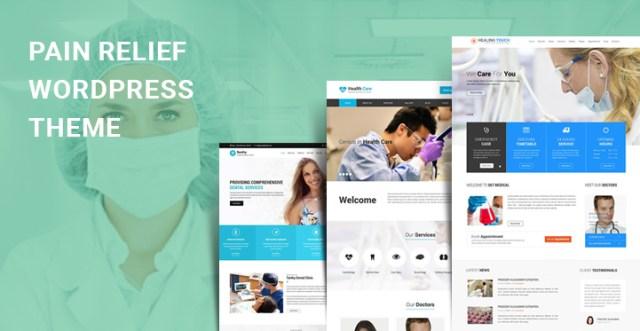 pain relief WordPress theme