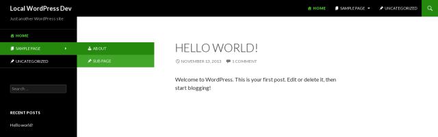 add icons WordPress menus
