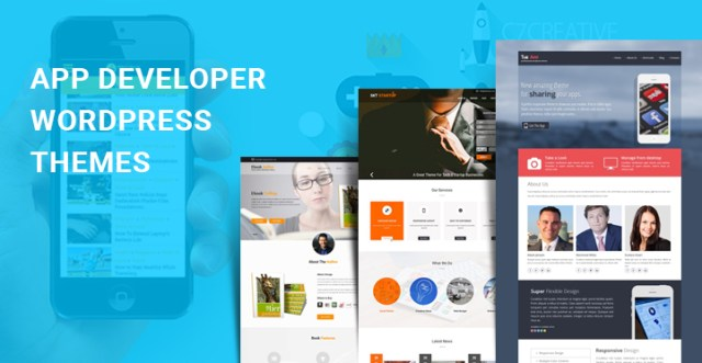 app developer WordPress themes