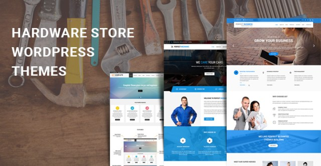 Hardware Store WordPress Themes
