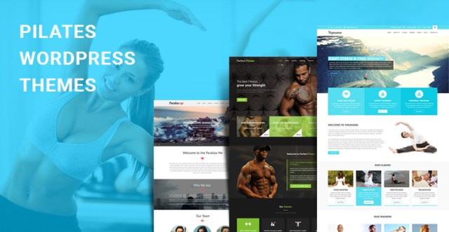 pilates WordPress themes