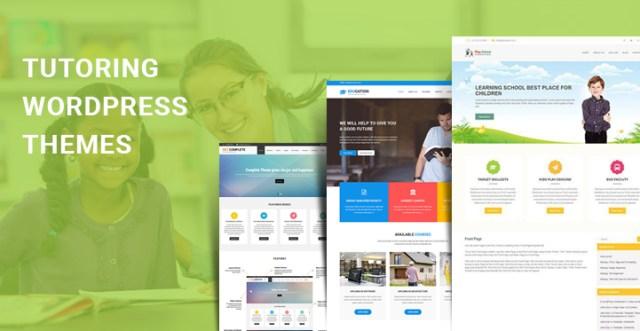 tutoring WordPress themes