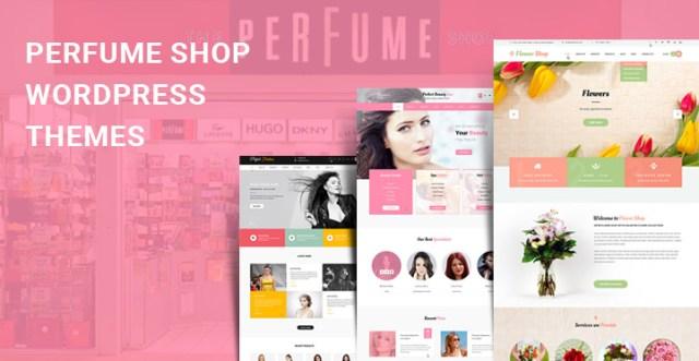 perfume shop WordPress themes
