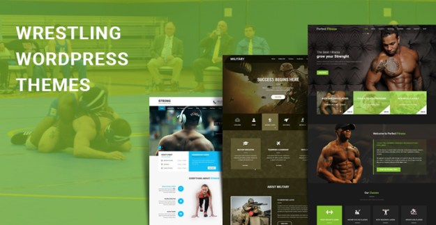 wrestling WordPress themes